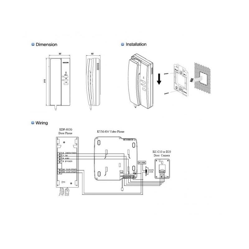 Aiphone Wiring Diagram: Kocom Intercom Wiring Diagram
