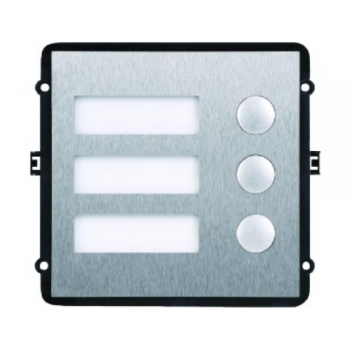 VTO2000A-B Video-uksetelefoni 3-nupuga uksekella moodul