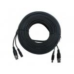 HD-CVI coax cable + DC, 20m